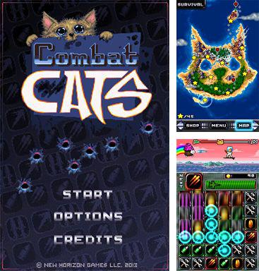 In addition to the game Johnny Scraps Clash of Dimensions for Android phones and tablets, you can also download Combat cats for free.