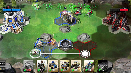 Screenshots von Command and conquer: Rivals für Android-Tablet, Smartphone.