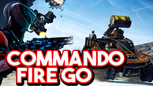 Commando fire go: Armed FPS sniper shooting game
