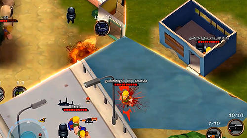 Screenshots von Conflict.io: Battle royale battleground für Android-Tablet, Smartphone.