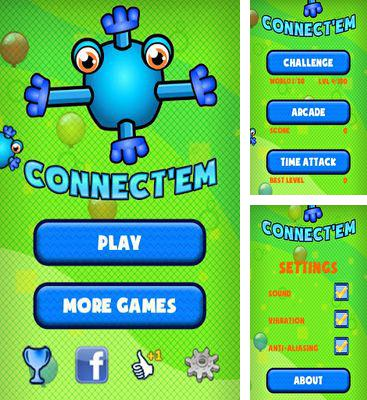 In addition to the game Spade Eleven for Android phones and tablets, you can also download Connect'Em for free.