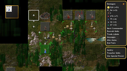 Screenshots von Conquest of Elysium 3 für Android-Tablet, Smartphone.