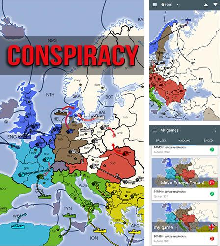 In addition to the game Lux DLX: Risk game for Android phones and tablets, you can also download Conspiracy for free.