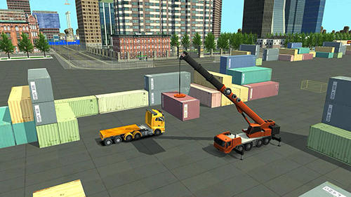 Screenshots von Construction and crane simulator 2017 für Android-Tablet, Smartphone.