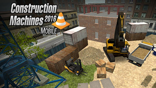 Construction machines 2016 обложка