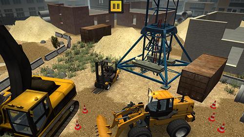 Construction and crane simulator 2017 pour android à télécharger.