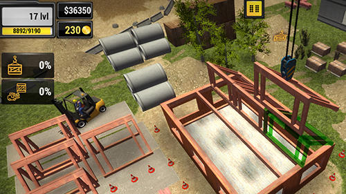Screenshots von Farm tractor simulator 2017 für Android-Tablet, Smartphone.