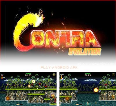 In addition to the game Metal Slug 3 v1.7 for Android phones and tablets, you can also download Contra Evolution for free.
