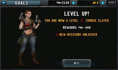 Screenshots von Contract Killer Zombies 2 für Android-Tablet, Smartphone.