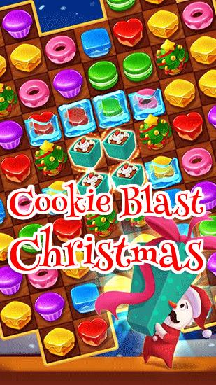 Cookie blast: Christmas обложка
