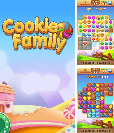 In addition to the game Toyshop Adventures 3D for Android phones and tablets, you can also download Cookie family for free.