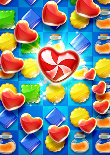 Cookie mania: Sweet match 3 puzzle скриншот 2