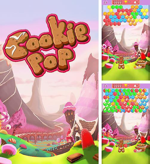 In addition to the game Bubble pop: Guriko for Android phones and tablets, you can also download Cookie pop: Bubble shooter for free.
