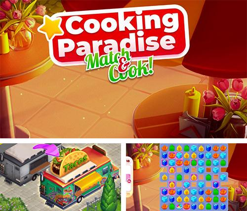 Cooking paradise: Puzzle match-3 game