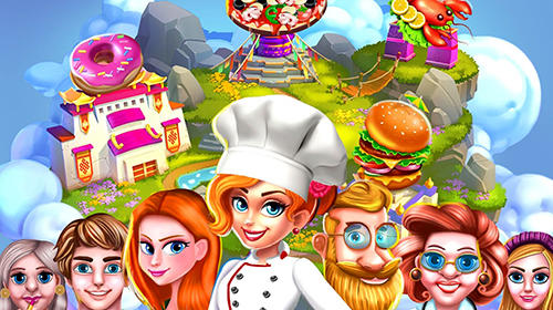 Capturas de pantalla de Cooking story crazy kitchen chef restaurant games para tabletas y teléfonos Android.