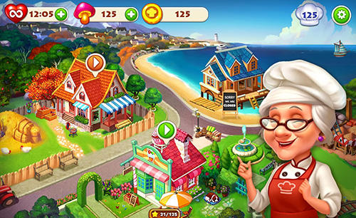 Cooking town: Restaurant chef game für Android spielen. Spiel Kochstadt: Restaurant Kochspiel kostenloser Download.