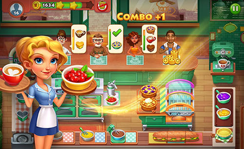 Capturas de pantalla de Cooking town: Restaurant chef game para tabletas y teléfonos Android.