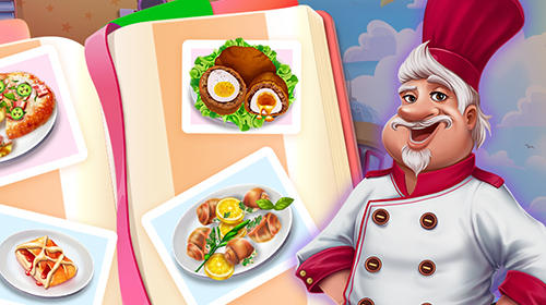 Скріншот гри Cooking up! Your culinary success! на Андроїд планшет і телефон.