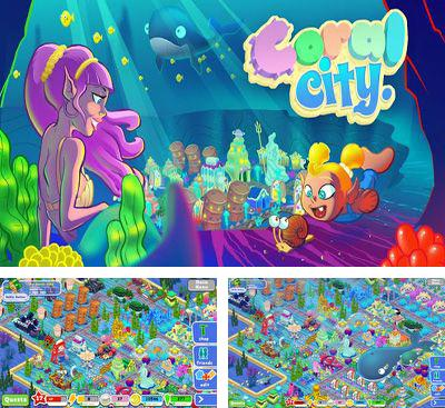 In addition to the game Bugs War for Android phones and tablets, you can also download Coral City for free.