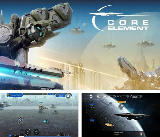 In addition to the game Mars tomorrow for Android phones and tablets, you can also download Core element for free.