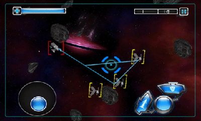 Screenshots of the Cosmo Combat 3D for Android tablet, phone.