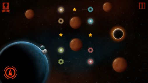 Screenshots of the Cosmoplan: A space puzzle for Android tablet, phone.
