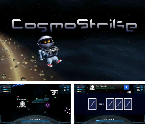 In addition to the game Day of madness for Android phones and tablets, you can also download Cosmostrike for free.