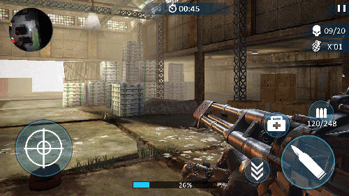 Counter fort invader: CS shooting screenshot 1