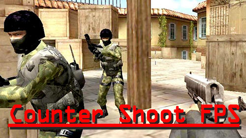 Counter shoot FPS poster