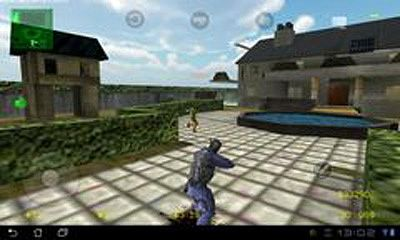 Screenshots do Counter Strike 1.6 - Perigoso para tablet e celular Android.