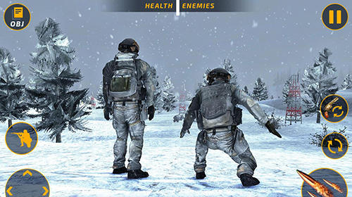 Kostenloses Android-Game Schlachtfeld der Kontra-Terroristen: FPS Shooter. Vollversion der Android-apk-App Hirschjäger: Die Counter terrorist battleground: FPS shooting game für Tablets und Telefone.