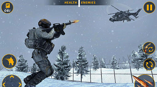Counter terrorist battleground: FPS shooting game für Android spielen. Spiel Schlachtfeld der Kontra-Terroristen: FPS Shooter kostenloser Download.