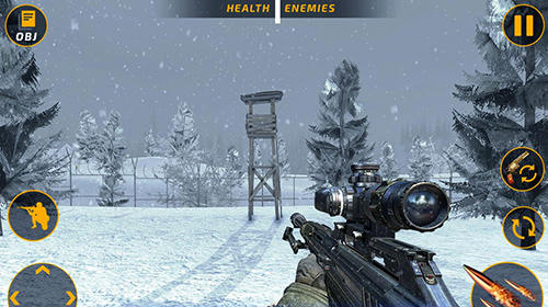 Screenshots von Counter terrorist battleground: FPS shooting game für Android-Tablet, Smartphone.