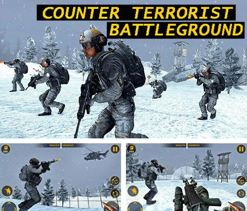 En plus du jeu Médaille de valeur 5: Multijoieurs pour téléphones et tablettes Android, vous pouvez aussi télécharger gratuitement Champ de bataille anti-terroriste: Jeu de tir, Counter terrorist battleground: FPS shooting game.