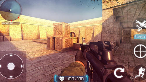 Kostenloses Android-Game Counter Terrorist: SWAT Strike. Vollversion der Android-apk-App Hirschjäger: Die Counter terrorist: SWAT strike für Tablets und Telefone.