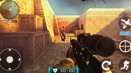 Counter terrorist: SWAT strike für Android spielen. Spiel Counter Terrorist: SWAT Strike kostenloser Download.