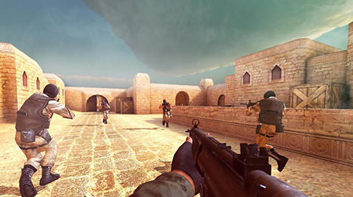 Screenshots von Counter terrorist: SWAT strike für Android-Tablet, Smartphone.