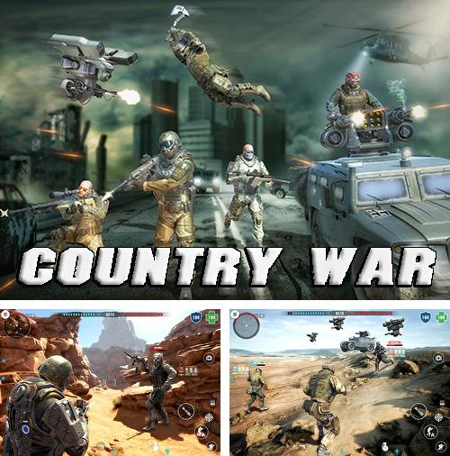 Country war: Battleground survival shooting games