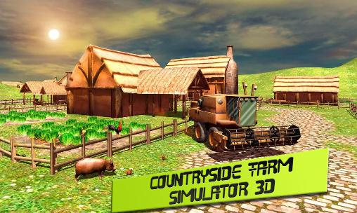 Countryside: Farm simulator 3D poster