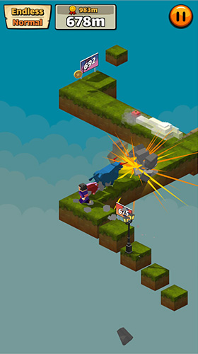 Cow pig run screenshot 1