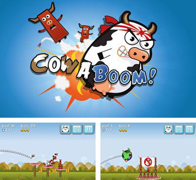 In addition to the game The Night Flier for Android phones and tablets, you can also download Cowaboom for free.