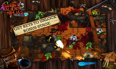 Jogue Cowboy vs. Ninjas vs. Aliens para Android. Jogo Cowboy vs. Ninjas vs. Aliens para download gratuito.