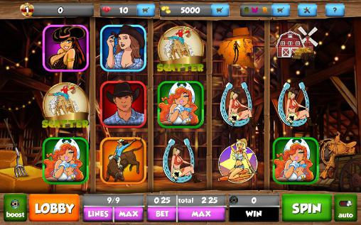 Cowgirl ranch slots screenshot 1