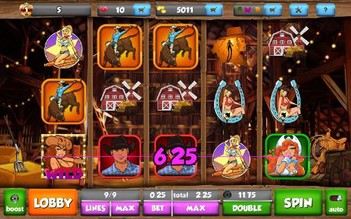 Cowgirl ranch slots screenshot 2