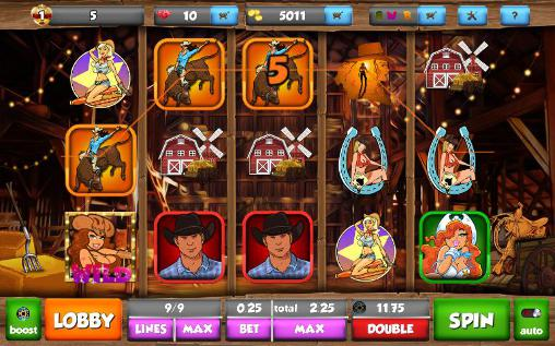 Cowgirl ranch slots screenshot 3