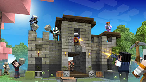 Craft shooter online: Guns of pixel shooting games screenshot 2