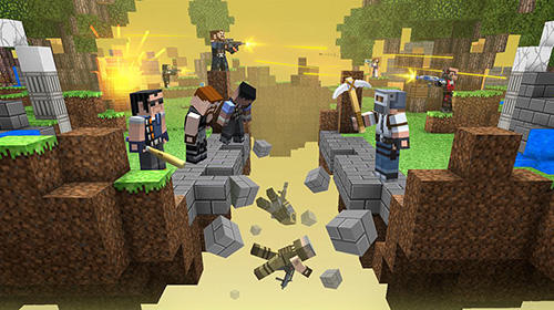 Craft shooter online: Guns of pixel shooting games screenshot 3
