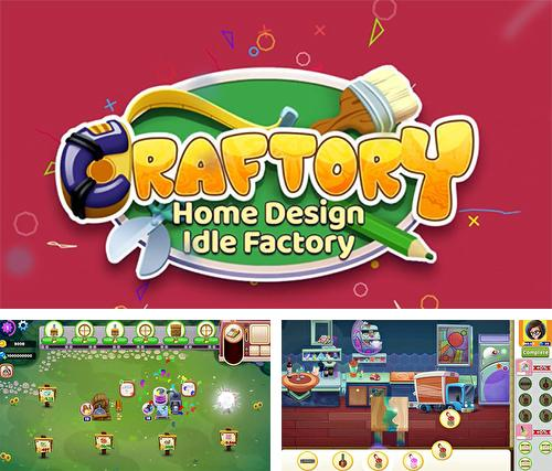 Craftory: Idle factory and home design
