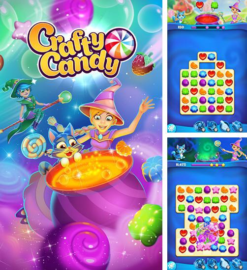 In addition to the game Balloony land for Android phones and tablets, you can also download Crafty candy for free.