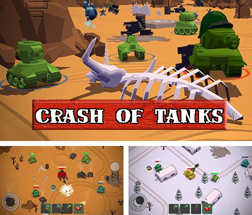 Crash of tanks online